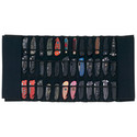 Maxam® Padded Nylon Knife Display Roll Case